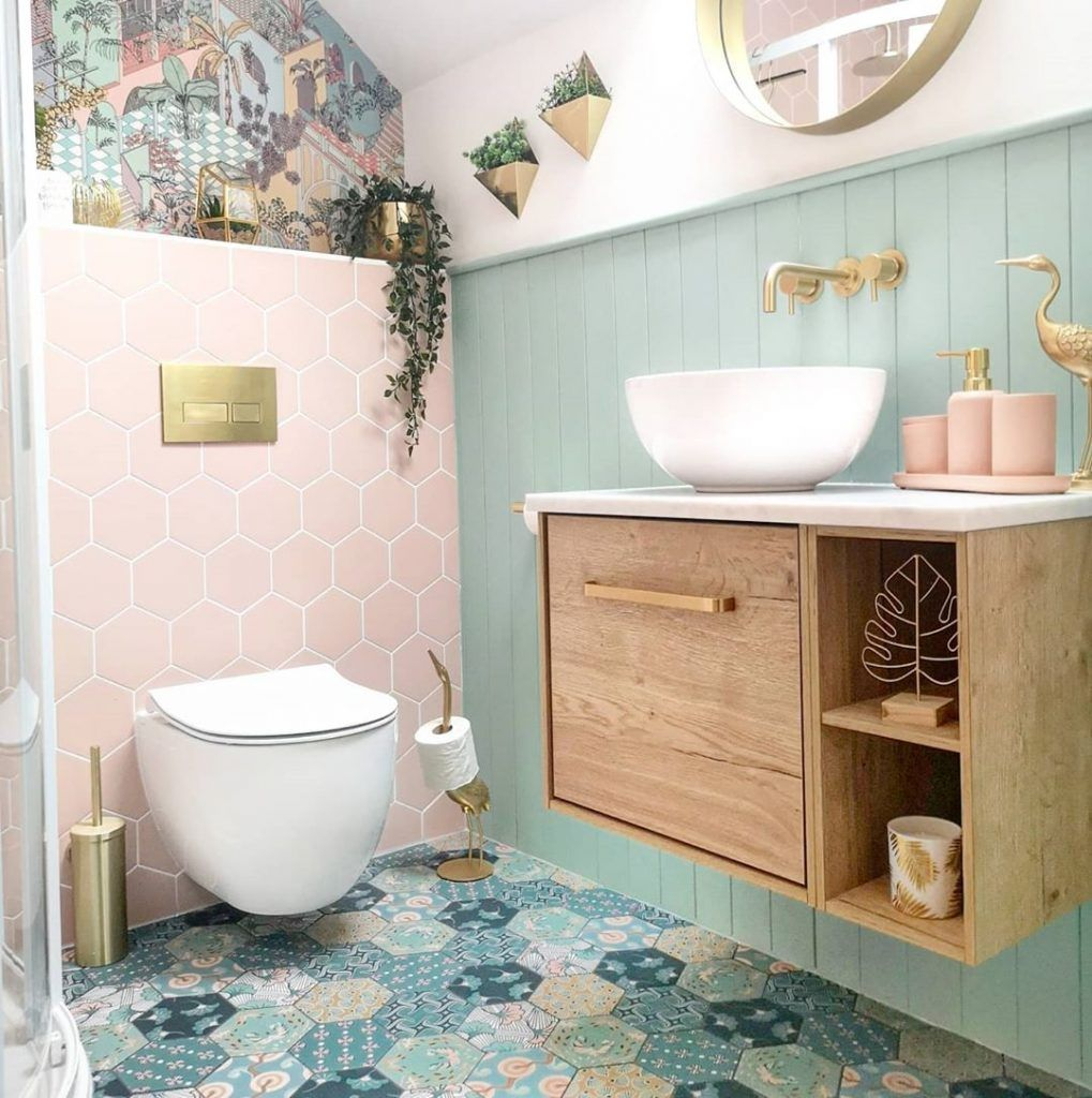 13 Awesome Small Bathroom Ideas Crafome Small Bathroom Inspiration Small Bathroom Decor Small Bathroom Decorating small bathrooms color
