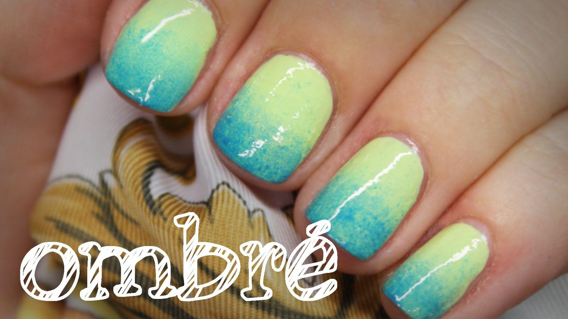 Nägel| Ombre-Nails - schnell & einfach - Nägel mit Farbverlauf ...