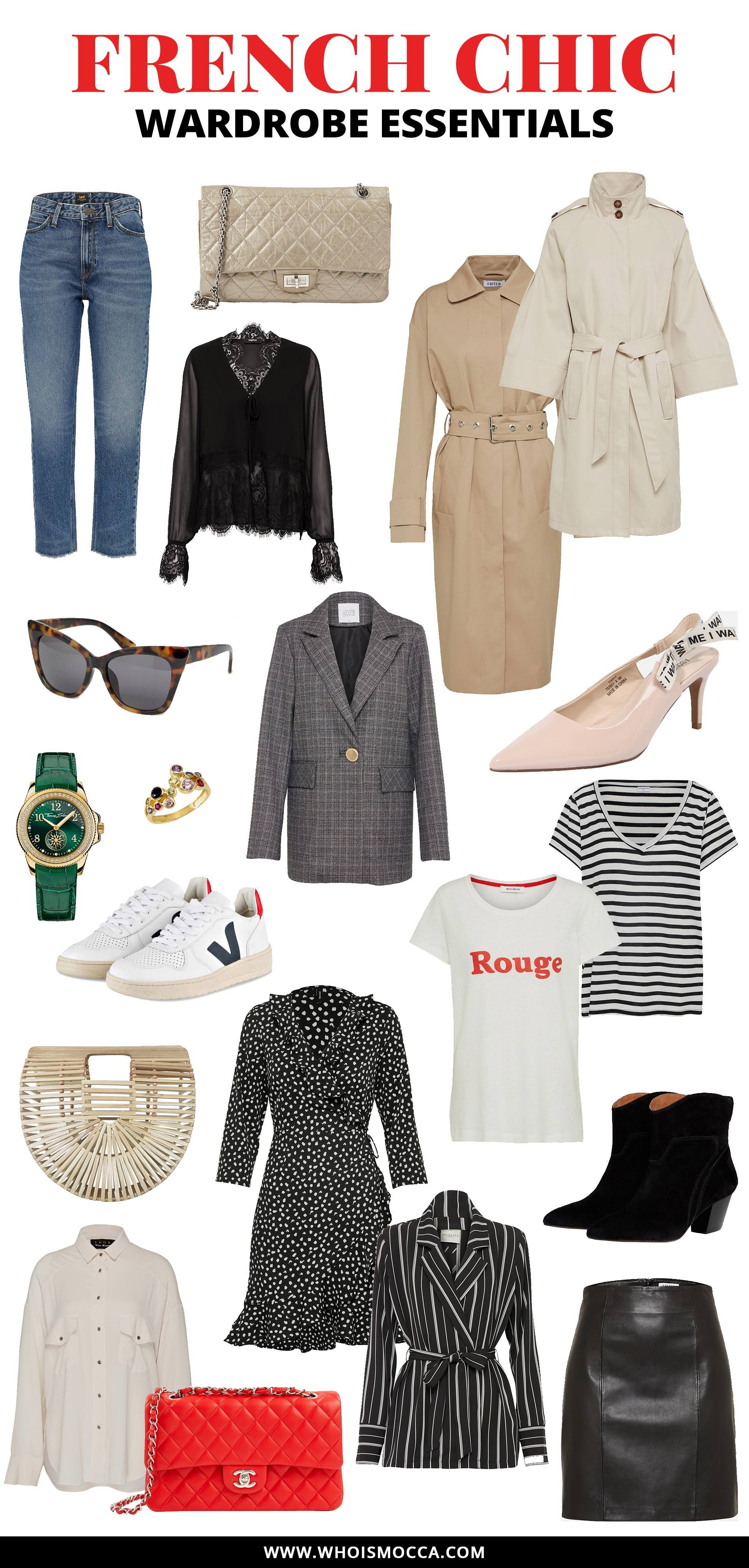 French Chic Wardrobe Essentials – die Must-haves für den Parisian Style!