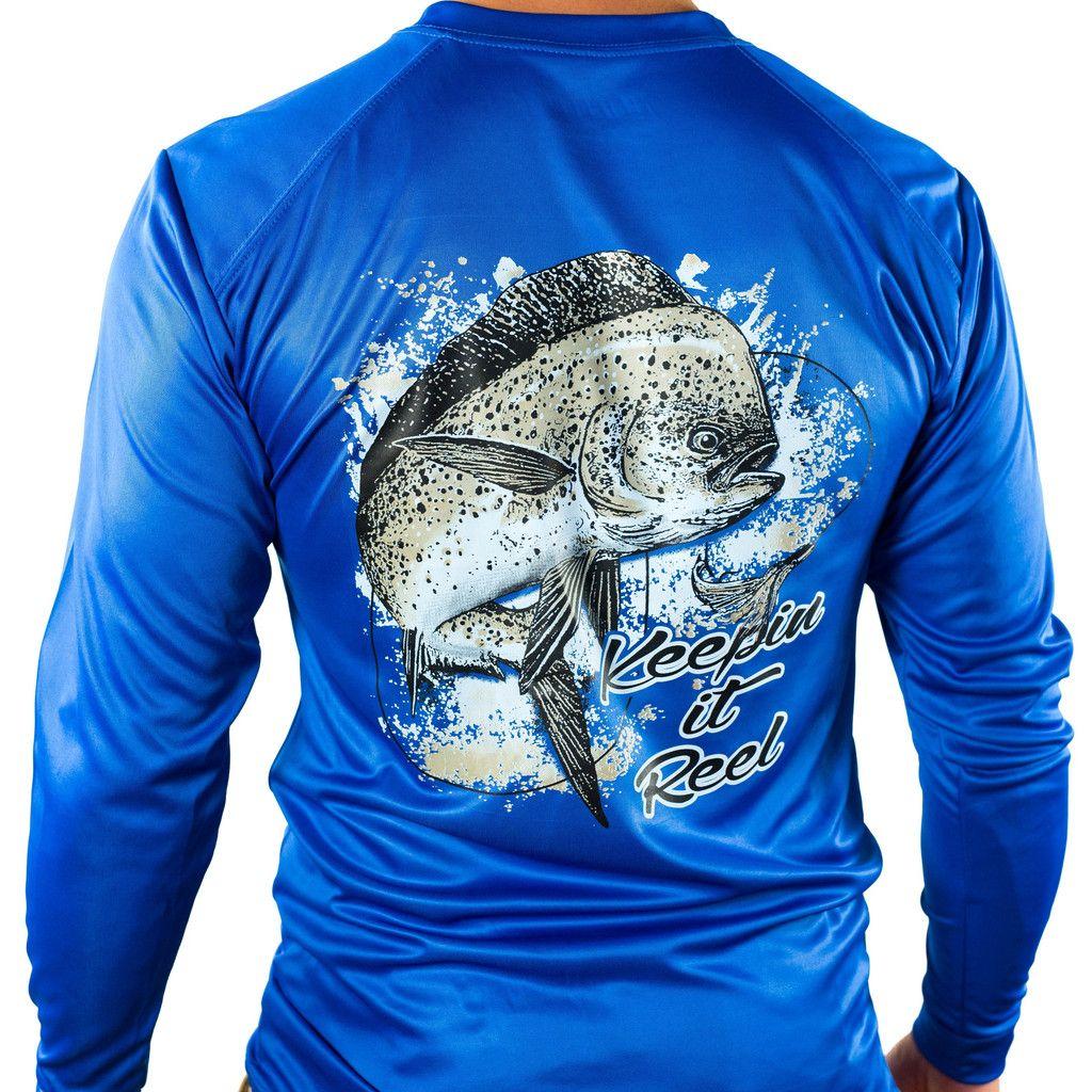 Ultimate Dri Fit Fishing Shirt UPF 30+ Men's Long Sleeve ...