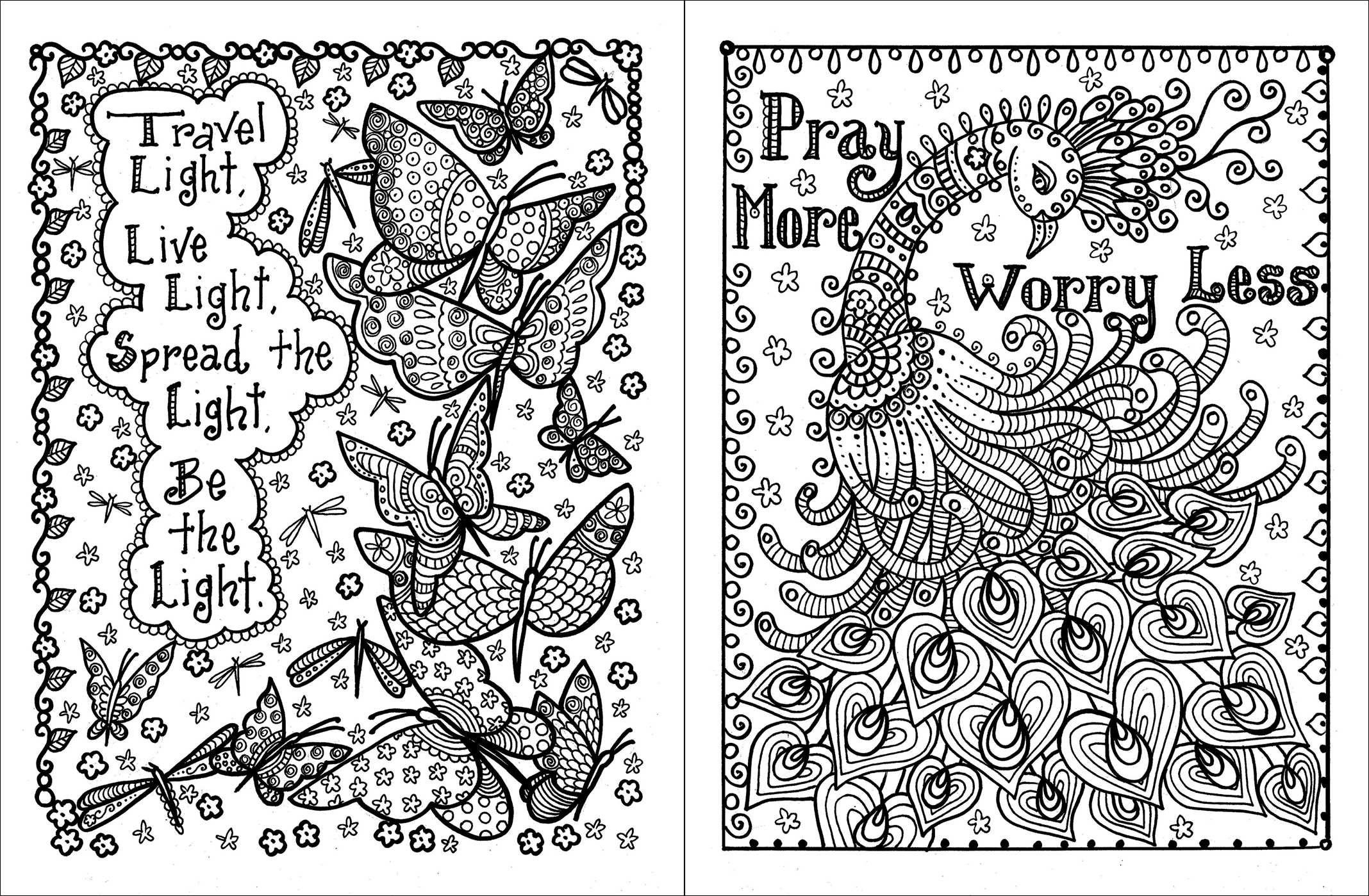 Amazon.com: Posh Adult Coloring Book: Inspirational Quotes for Fun ...