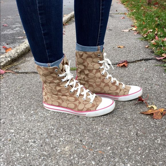 Coach Sneakers | Sneakers, Coach shoes