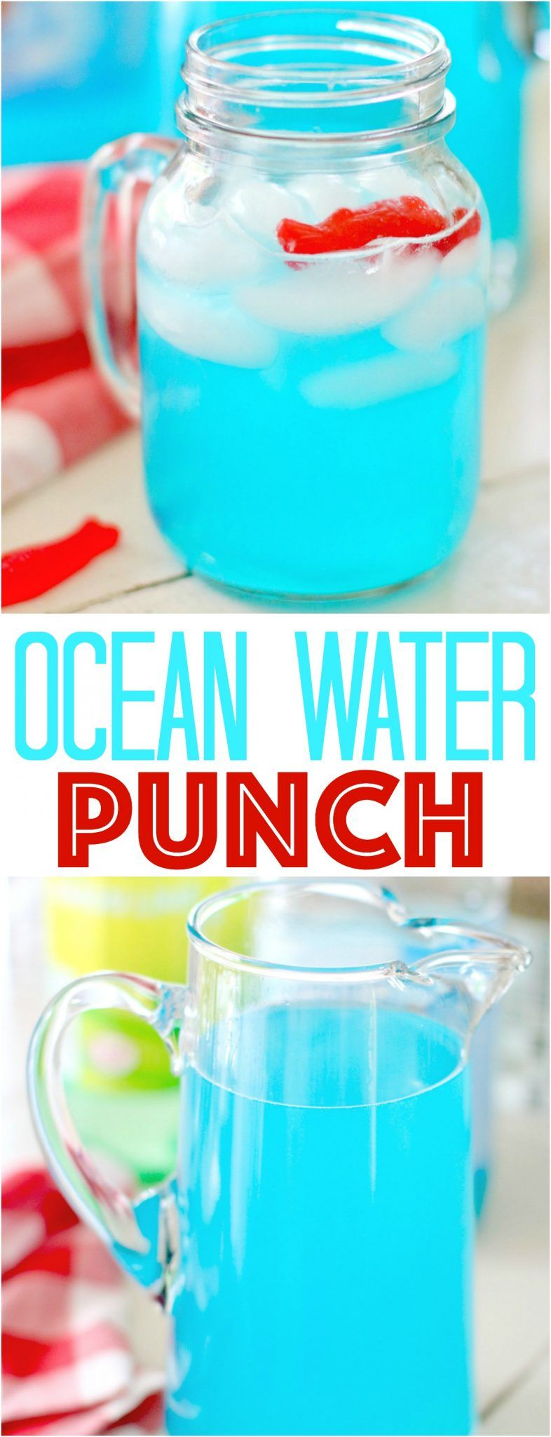 Easy Ocean Water Punch The Country Cook Recipe Punch Drinks Kid Drinks Punch Recipes