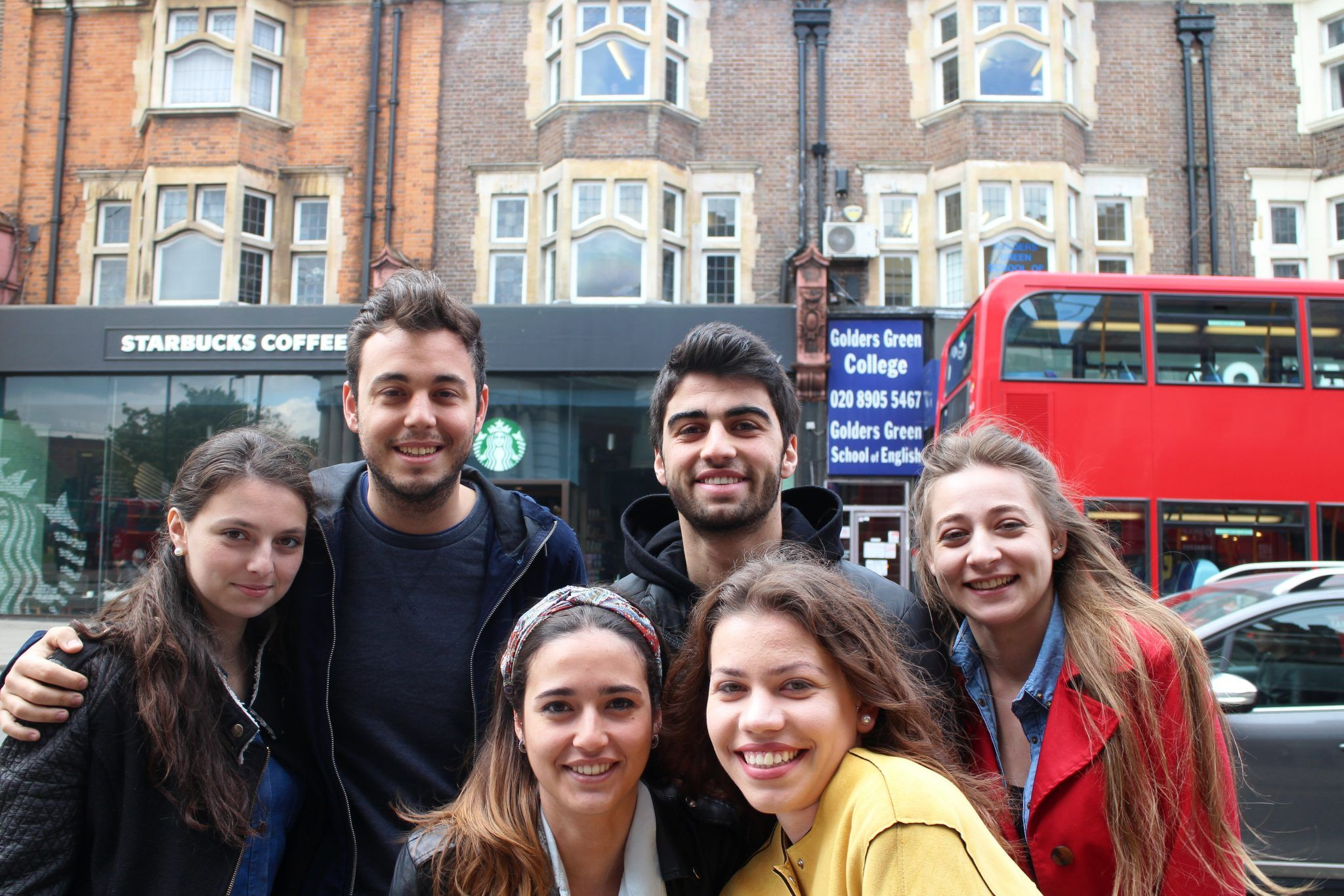 Learn English in england with Golders Green College School of