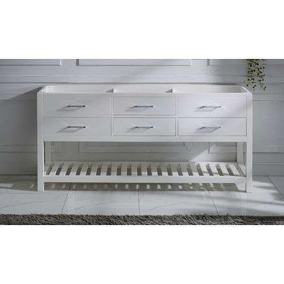 Best Virtu Usa Caroline Estate 72 Bathroom Vanity Base Only 400 x 300