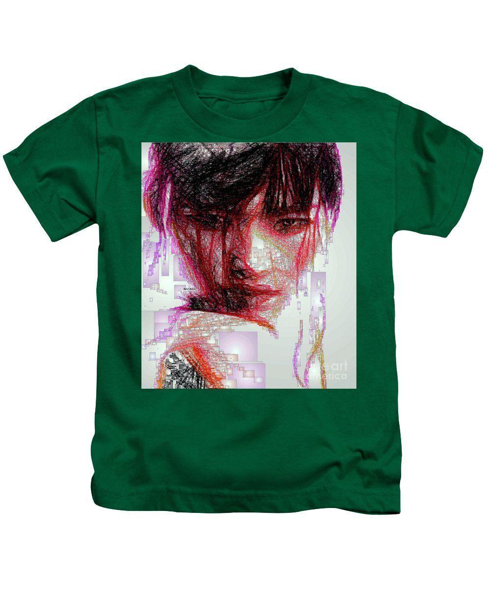 Kids T-Shirt - Oriental Portrait
