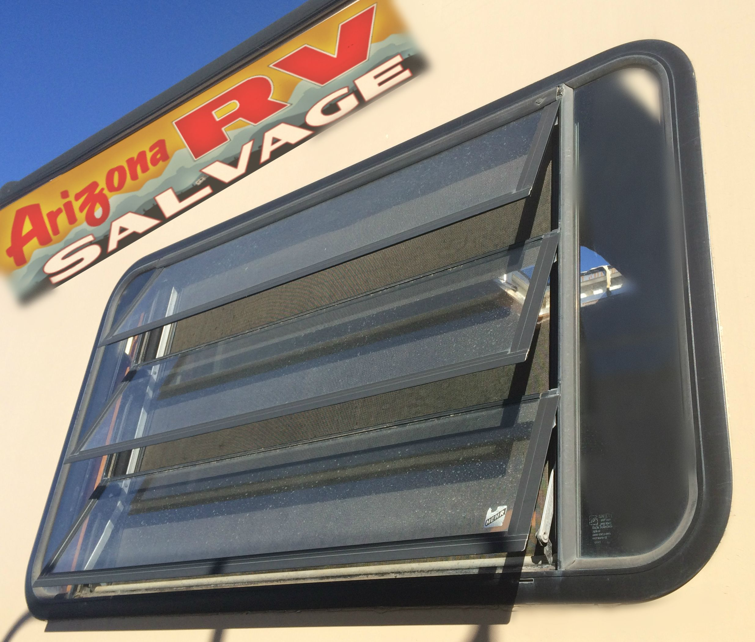 RV Side Windows at Arizona RV Salvage 2600 S  7th Ave
