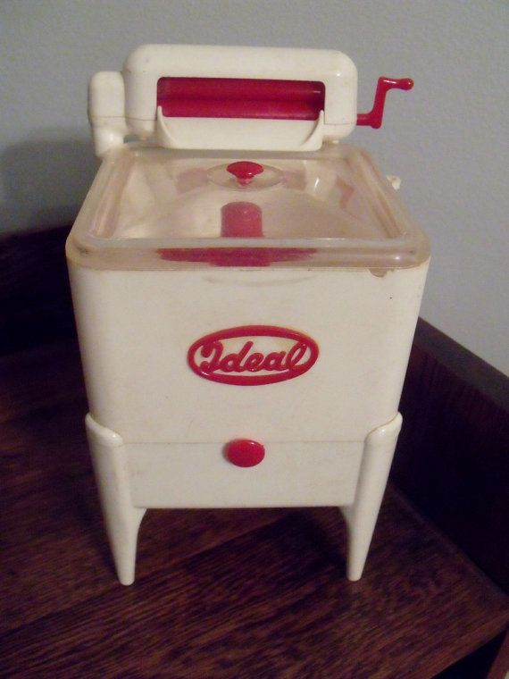 1950s Ideal Toy Wringer Washing Machine Plastic By