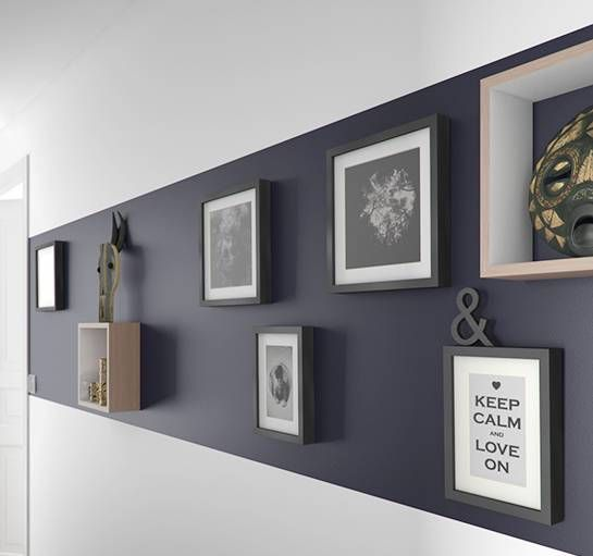 astuces pour donner du cachet son int rieur couloir pinterest castorama galerie et. Black Bedroom Furniture Sets. Home Design Ideas