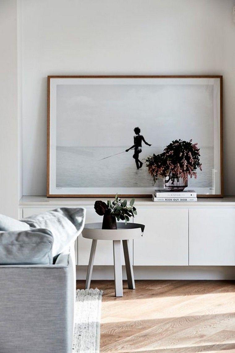 comment accrocher un tableau au mur ide dco art tendance table basse - Accrocher Tableau Mur