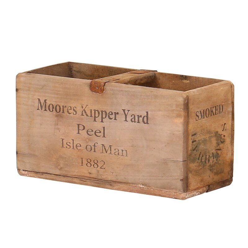 Cedargrove Moores Kipper Yard Solid Wood Organiser Box Organiser Box Solid Wood Antique Wooden Boxes