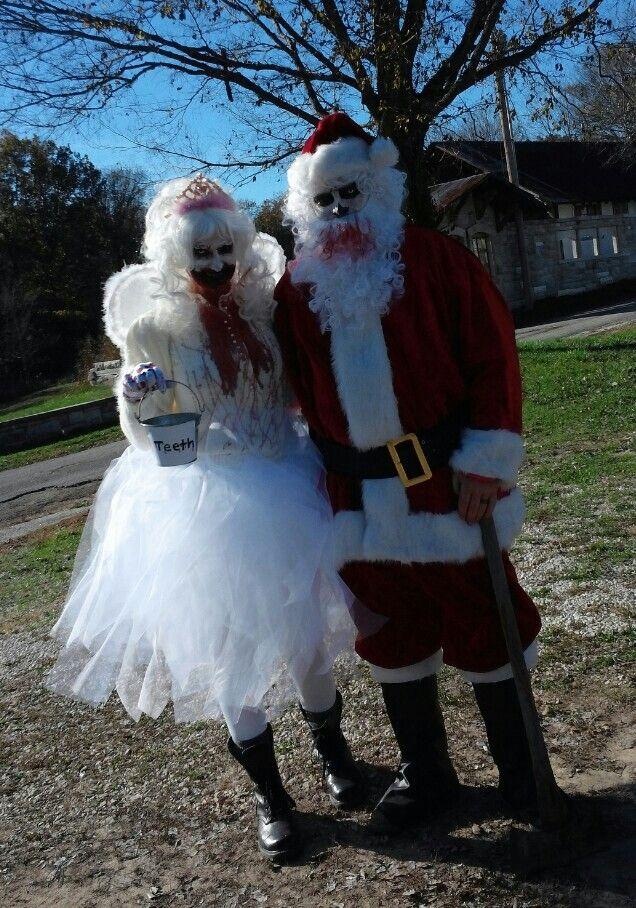 Evil Santa And Tooth Fairy Halloween Fancy Dress, Halloween 2016, Halloween  Stuff, Halloween
