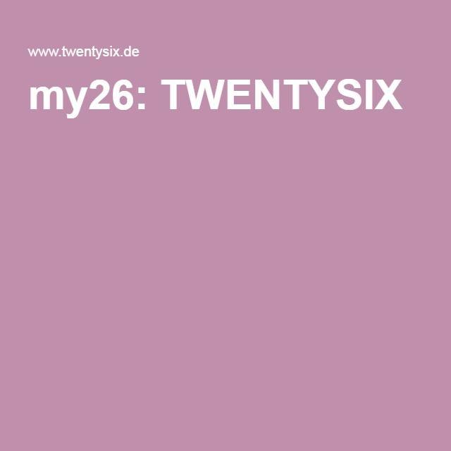 my26: TWENTYSIX