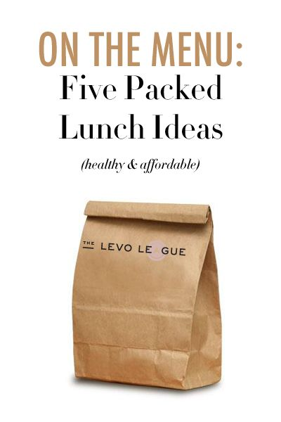 Avoid the Sandwich Shop Slump: A Week's Worth of Packed Lunch Ideas   Eat healthy   healthy food   yum   thrifty food   life hack   save money