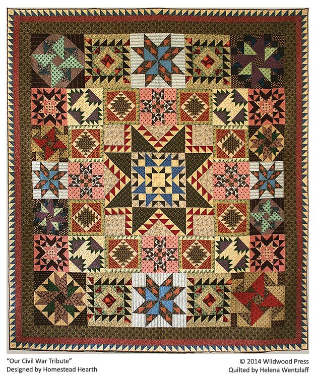 Helena Wentzlaff S Quilting Tradition Midwest Fiber Arts Trails Quilt Patterns Civil War Quilts Quilts