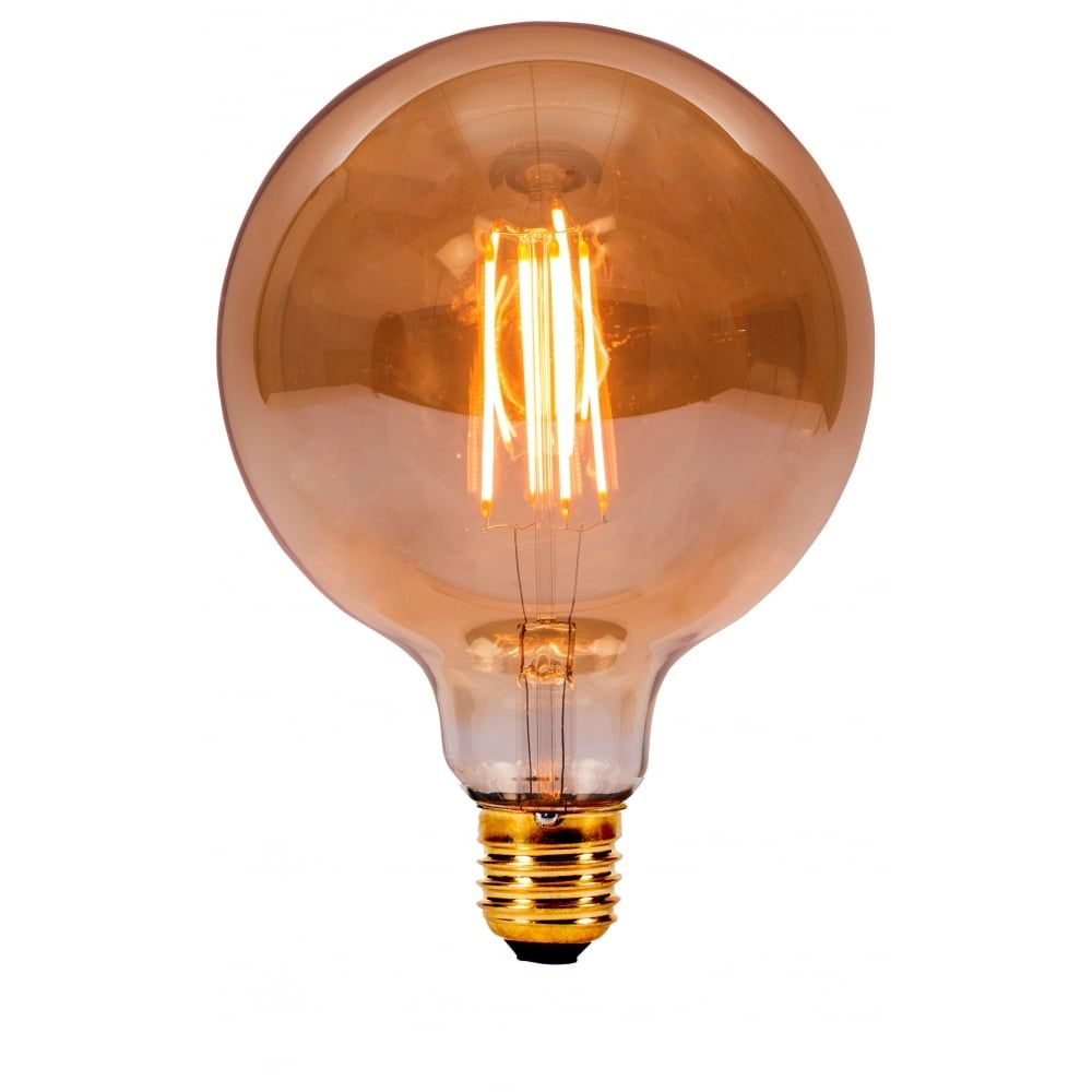 Bell Lighting 4w Led Vintage Led Es Amber Classic Large Globe