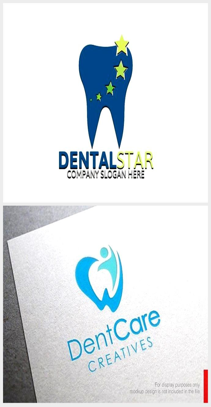 Dental logo template - logos - 2nd #dentallogo