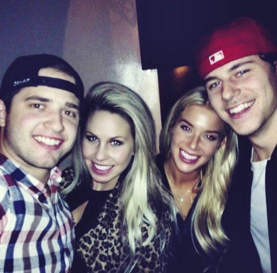 Dustin Tokarski Linea Tokarski Katie Carpenter Nathan Beaulieu Nhl Players Wife And Girlfriend Hockey Wife