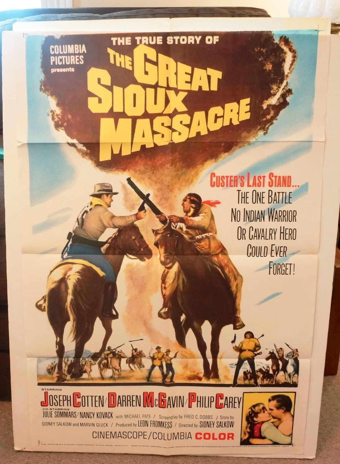 Watch The Great Sioux Massacre Full-Movie Streaming