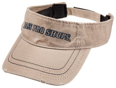 Bass Pro Shops Visor for Men - Khaki