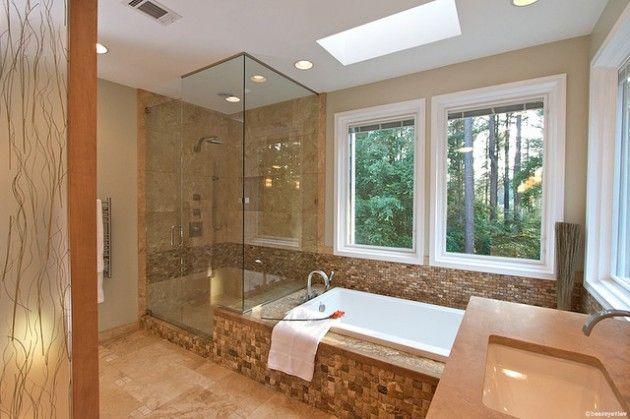 20 geniale Ideen für die Dekoration kleiner Badezimmer mit ...