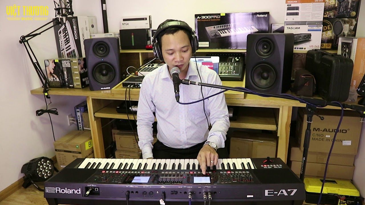 Roland E-A7: Demo bộ Backup TK mới 2 0 cho Roland EA7 | Tư vấn