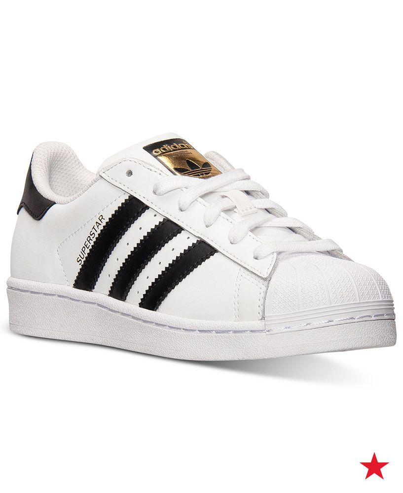 Big Boys' Superstar Casual Sneakers