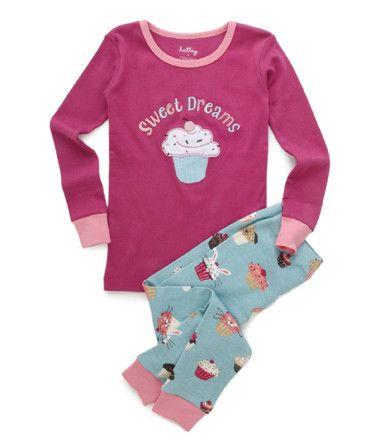 5d127df82 Polo P.J. Set - Cupcakes (various sizes) Adult Pajamas