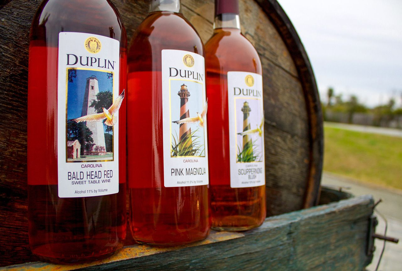 If You Have Never Been To The Duplin Winery You Should It Is The Perfect Day Trip During Your Topsail Island Vacation Muscadine Wine Sweet Wine Wines