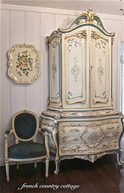 A Little Bit Of Elegance Barok Meubelen Interieur Brocante Meubels