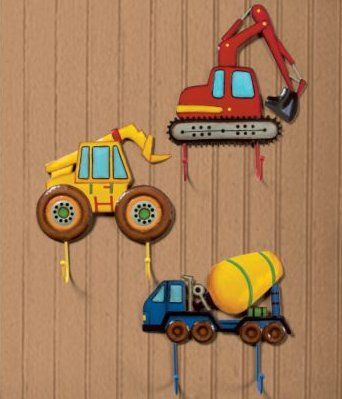 Rigs Truck Wall Hooks Incredible Bedroom Play Room And Nursery Decor For Boys S Rooms At Kids Decorating Ideas