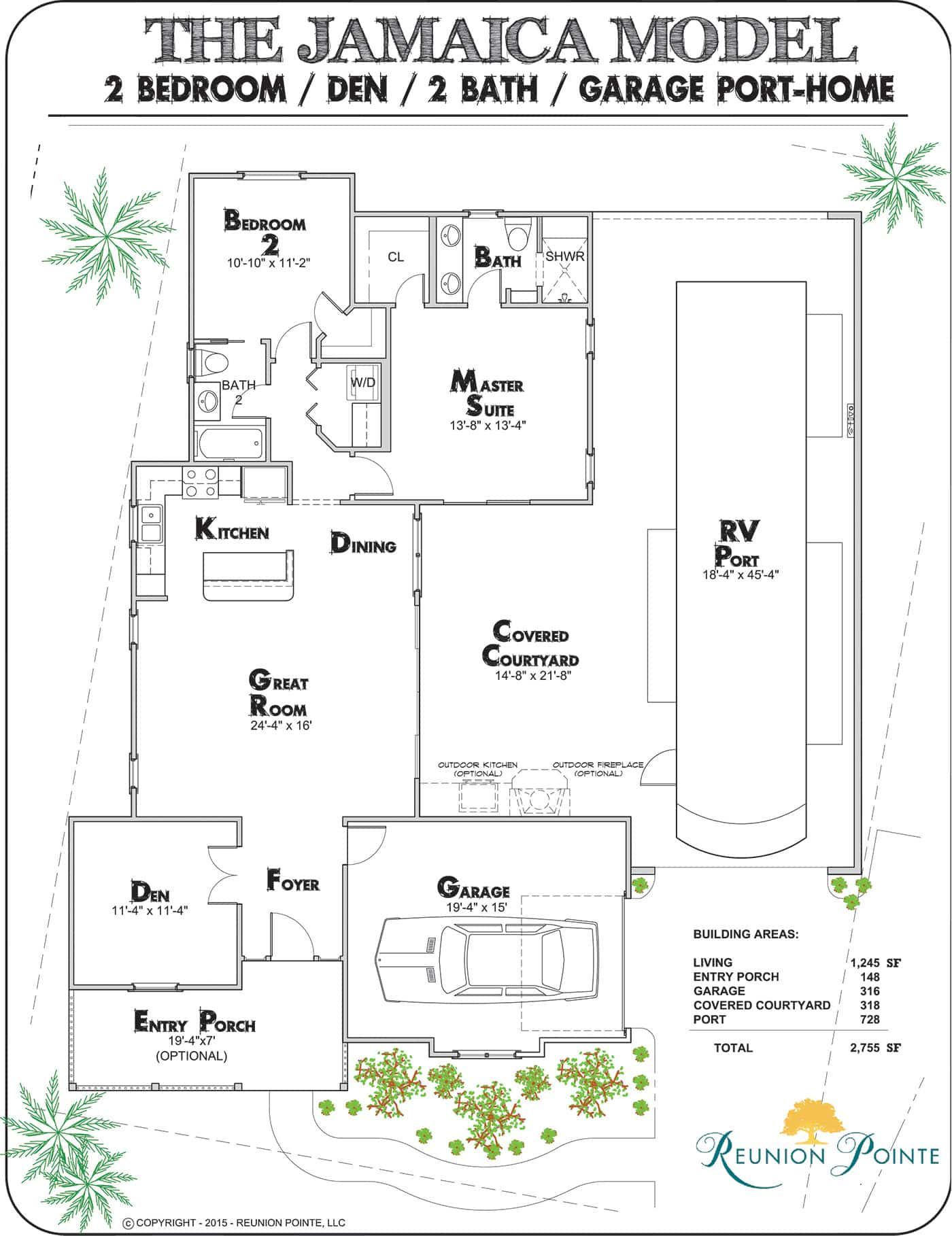 Jamaica Rv Port Home Model Reunion Pointe In 2020 Barndominium Floor Plans Barndominium Plans Floor Plans