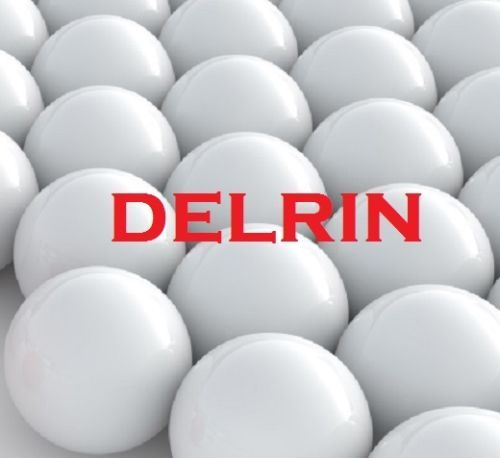 New 100pcs 2.778mm Delrin Polyoxymethylene POM Solid Plastic Balls