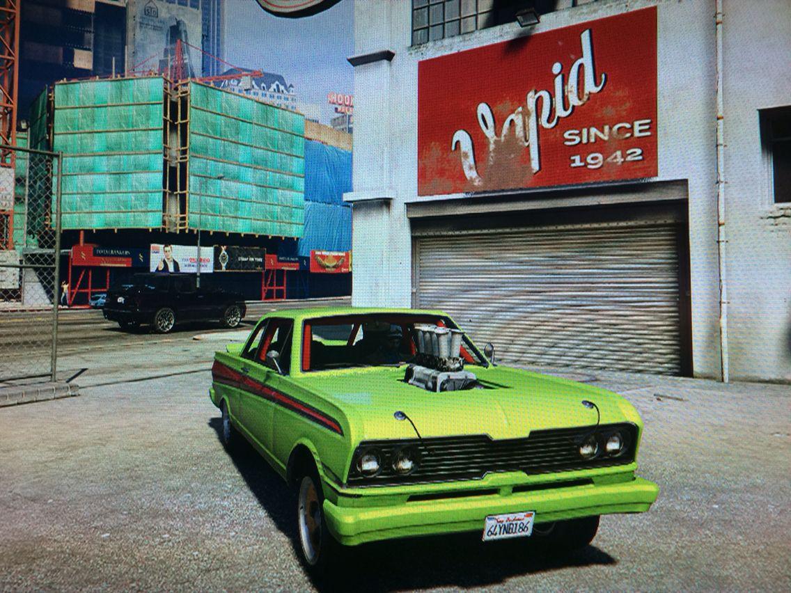 Gta V Muscle Car Gta V Pinterest Gta Muscle Cars And Gta 5