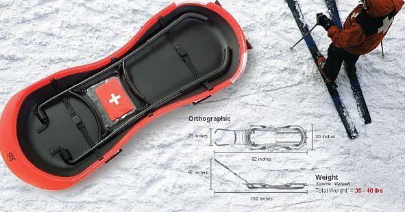 Santé - Transport : Monsieur Polapat Bhiromkaew, designer, a dessiné un brancard des neiges qui a plus d'un avantage à proposer aux stations de ski.En effet, s'il n'y a pas souvent d'accidents gr...