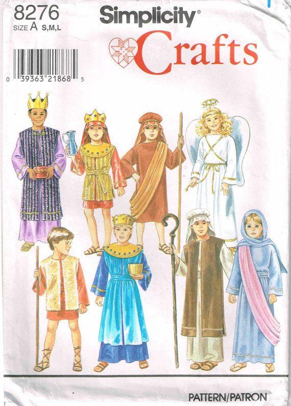 Children Religious Nativity Costumes Theater Halloween Christmas ...