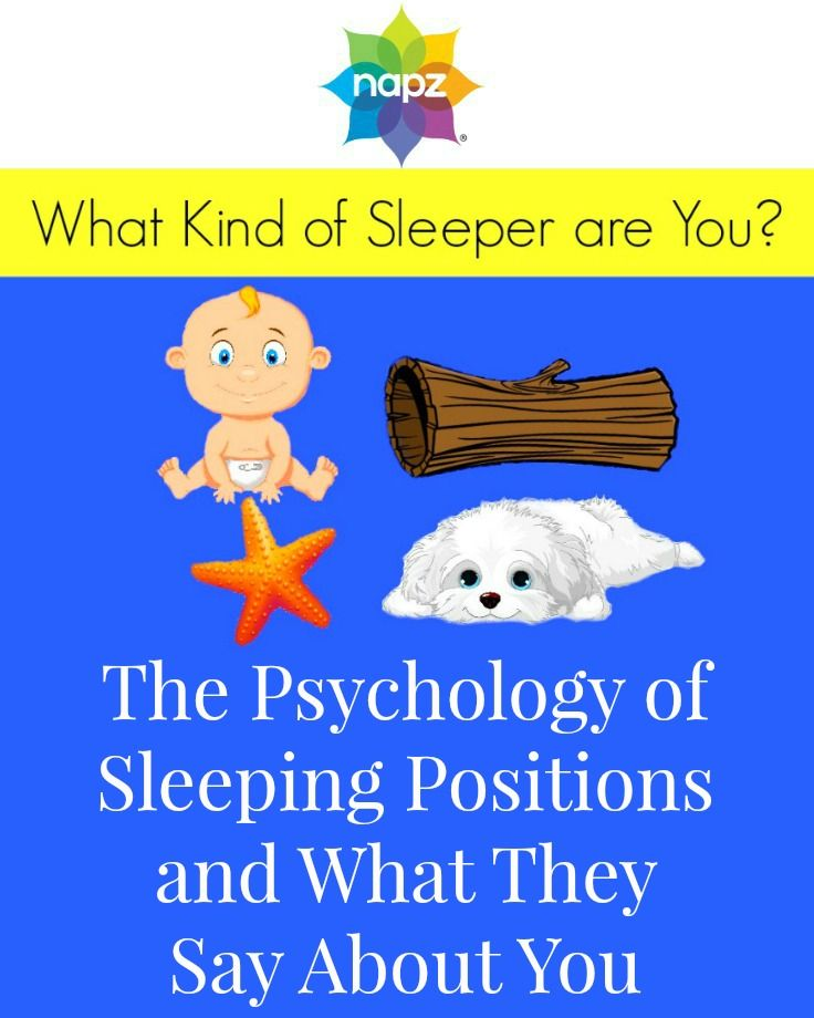 The Psychology Of Sleeping Positions And What They Say About You