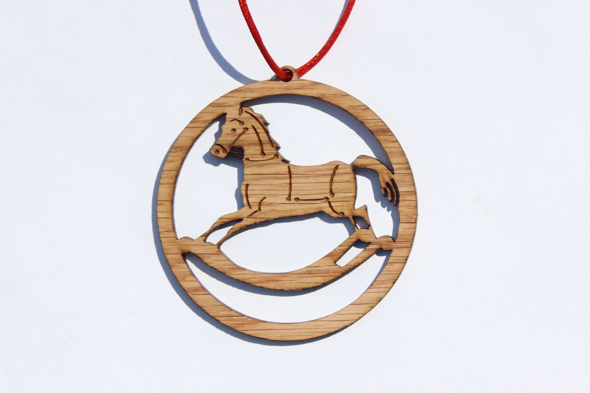 This Laser Cut And Engraved Rocking Horse Is Perfect For