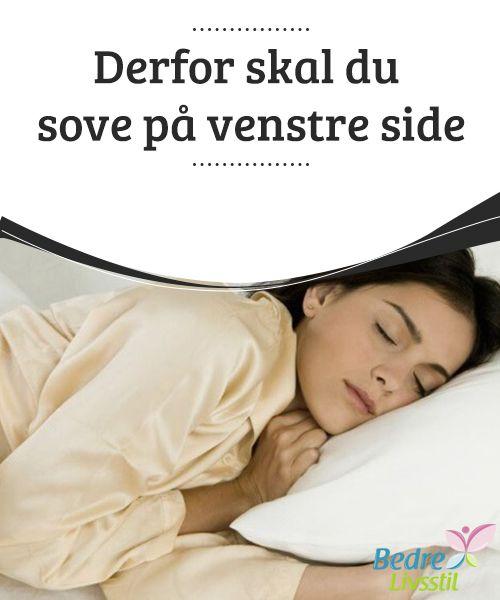 venstre side af kroppen sover
