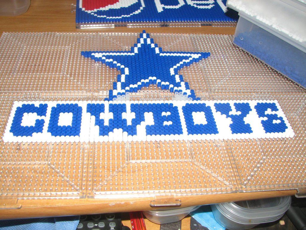 dallas cowboys perler by ndbigdi.deviantart.com on @DeviantArt ...
