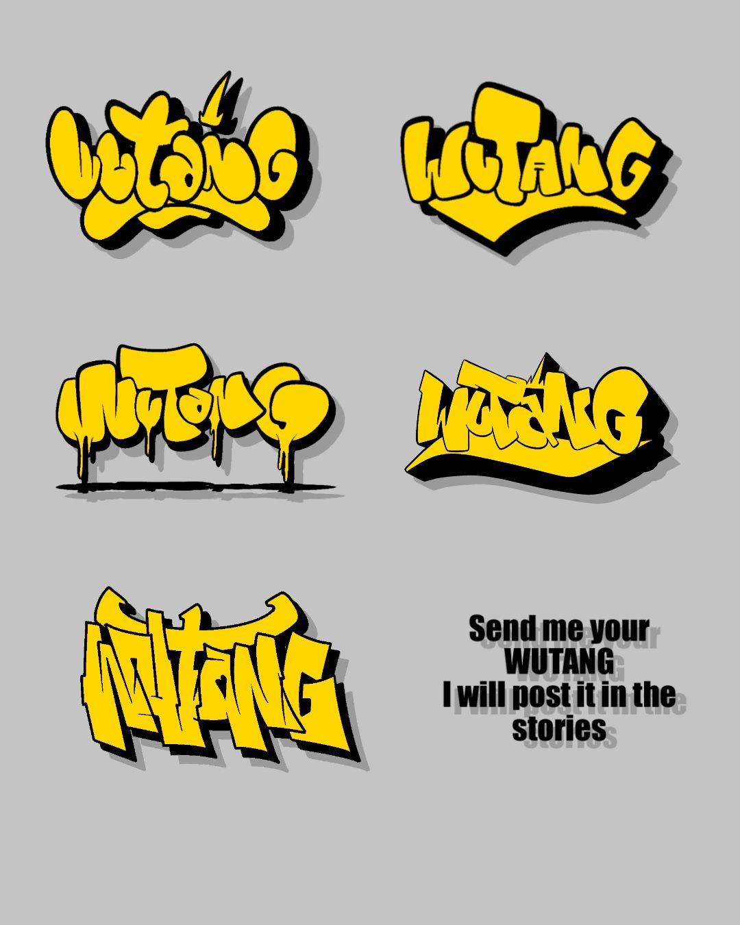 Wich One 1 5 Wutang Graffiti Lettering Graffiti Alphabet Font Art [ 1350 x 1080 Pixel ]