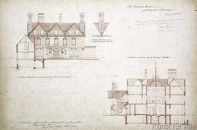 Philip webb design for the red house bexley heath