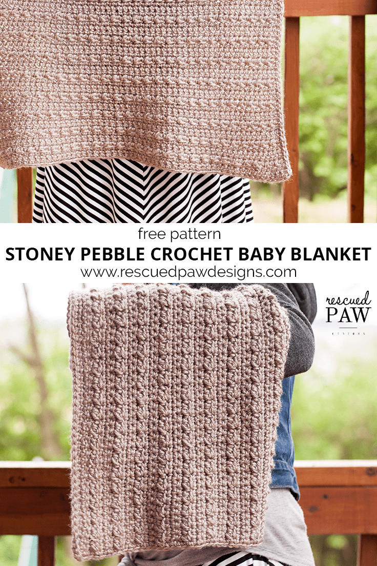 Stoney pebbles crochet baby blanket crochet baby blankets make the stoney pebble crochet blanket today free pattern from rescued paw designs bankloansurffo Image collections