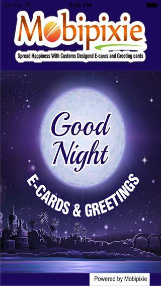 Httpsitunesleusappgood night ecards greetings httpsitunesleusappgood m4hsunfo