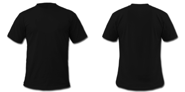 t shirt vector template template free vector graphics and file format rh pinterest com black t shirt vector front and back black t shirt vector free