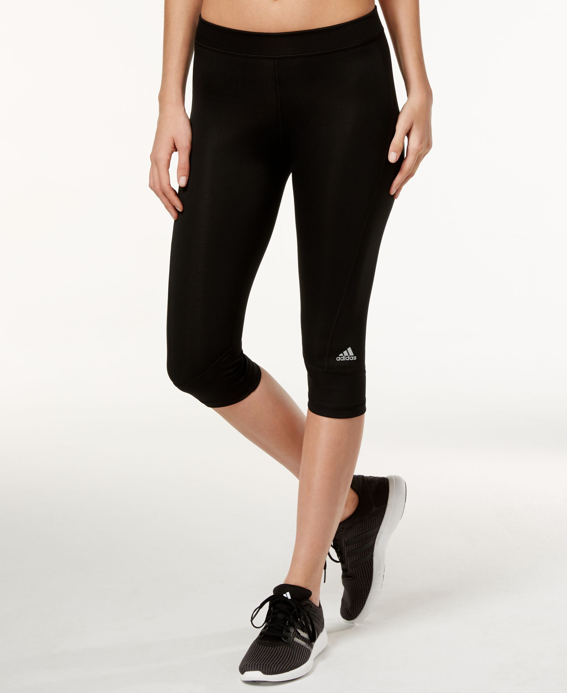 f03ec23e4d96 Adidas ClimaLite Capri Leggings