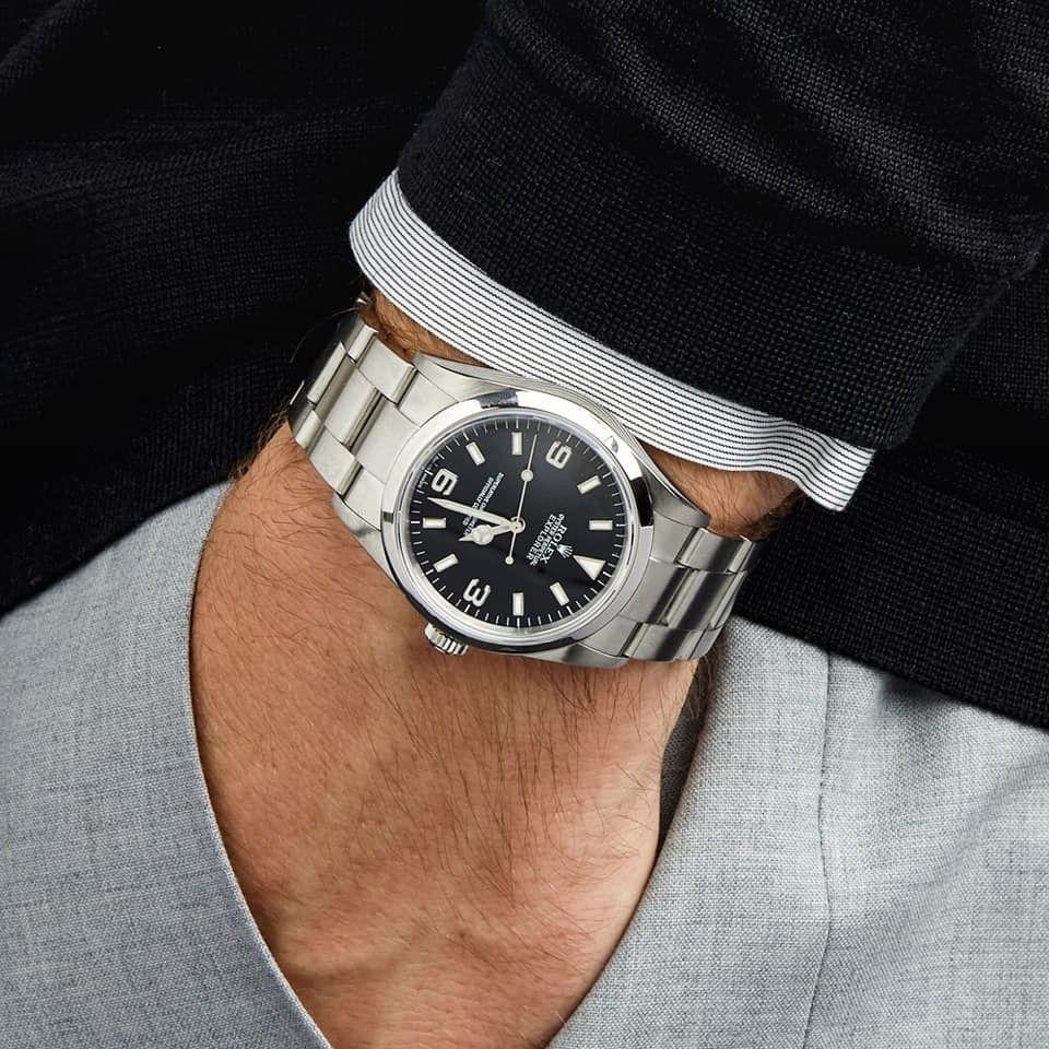 Pin By Bente On Watches Rolex Watches Rolex Explorer Second Hand Rolex