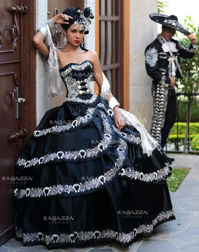 41d6235b7aa A-Line Charro Quinceanera Dress by Ragazza Fashion Style B16-216-Ragazza  Fashion-ABC Fashion
