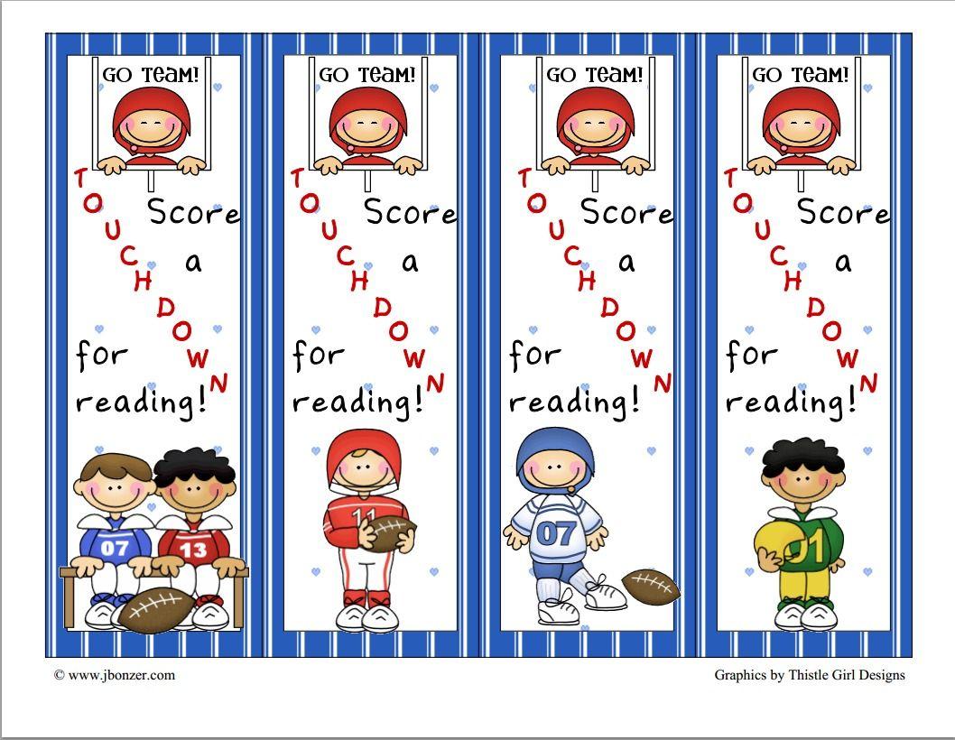 Football Bookmarks