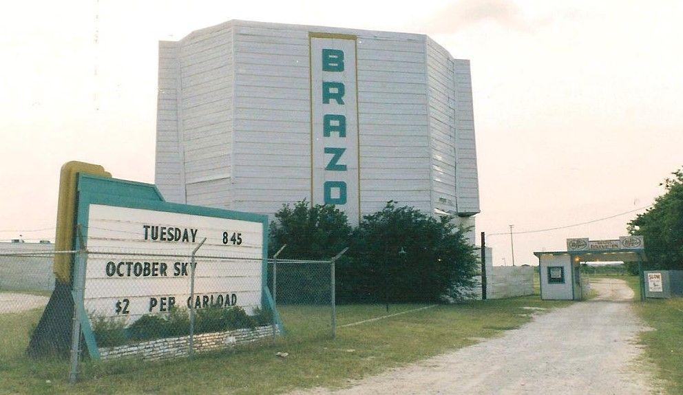 Brazos drivein in granbury tx opened in 1954 drive